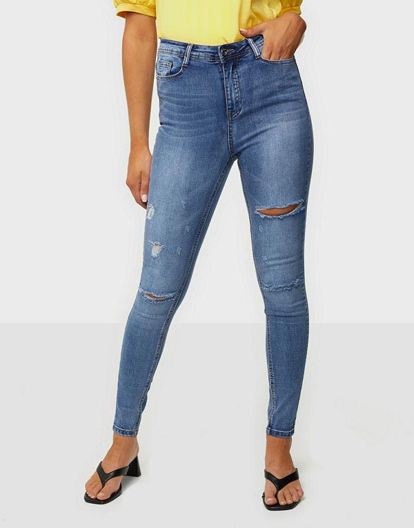 Missguided Vintage High Waist Jeans