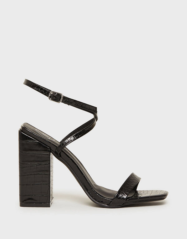 Missguided Chunky Block Heel Barely