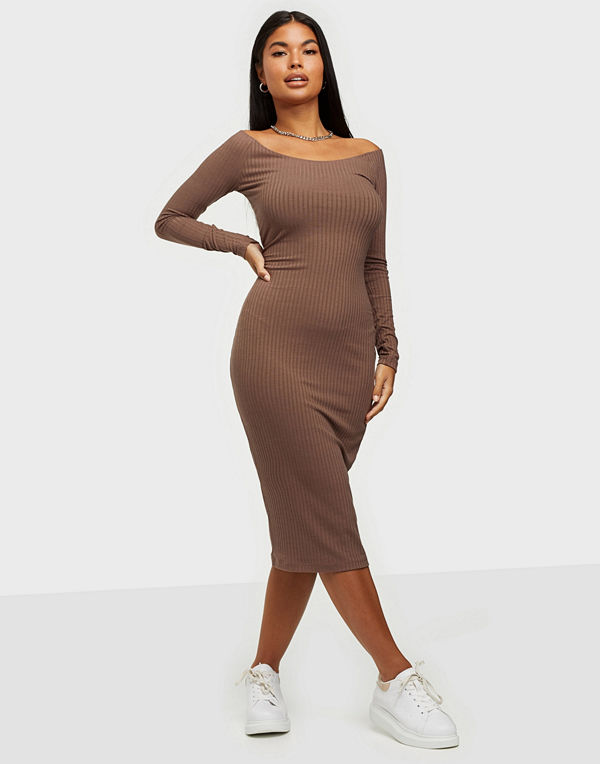 NLY Trend Rib Shoulder Dress