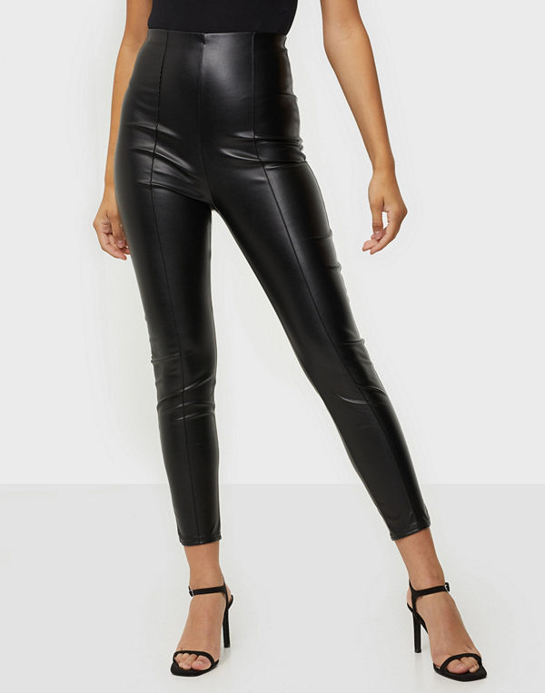 Missguided Faux Leather Leggings