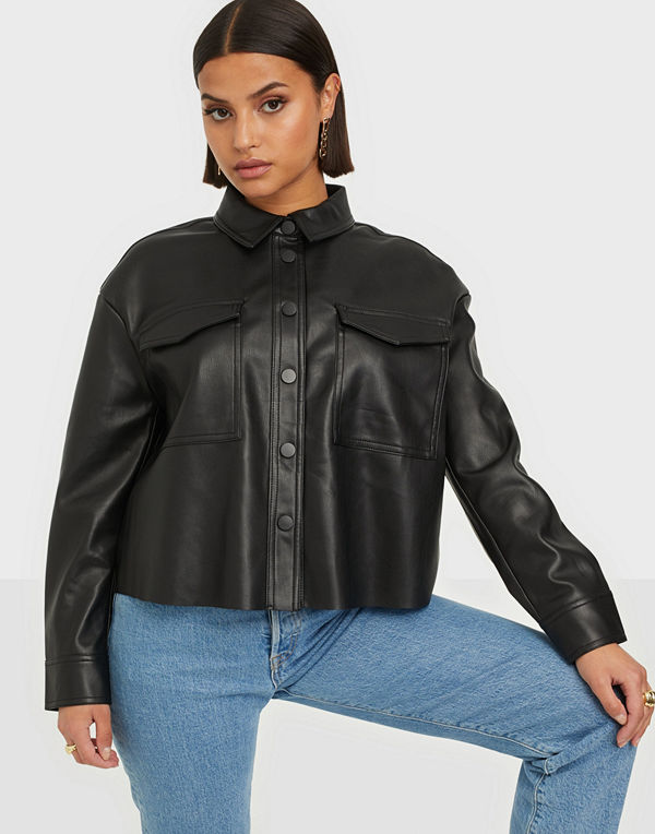 Only ONLMARINA FAUX LEATHER JACKET CC PN