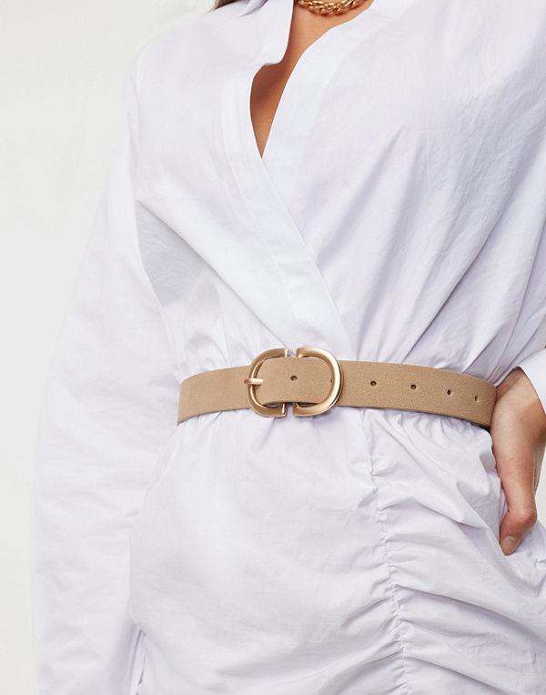 Pieces Pcjuva Suede Jeans Belt Noos