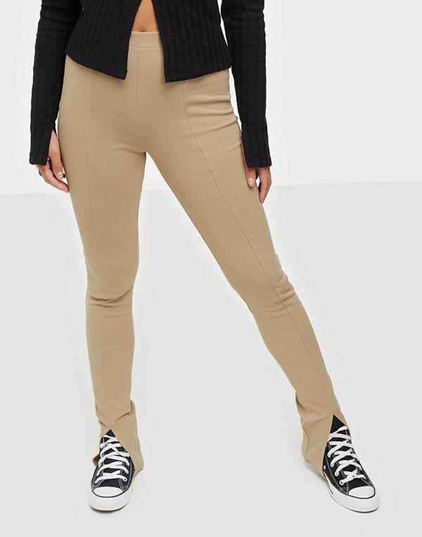 NLY Trend Front Slit Leggings