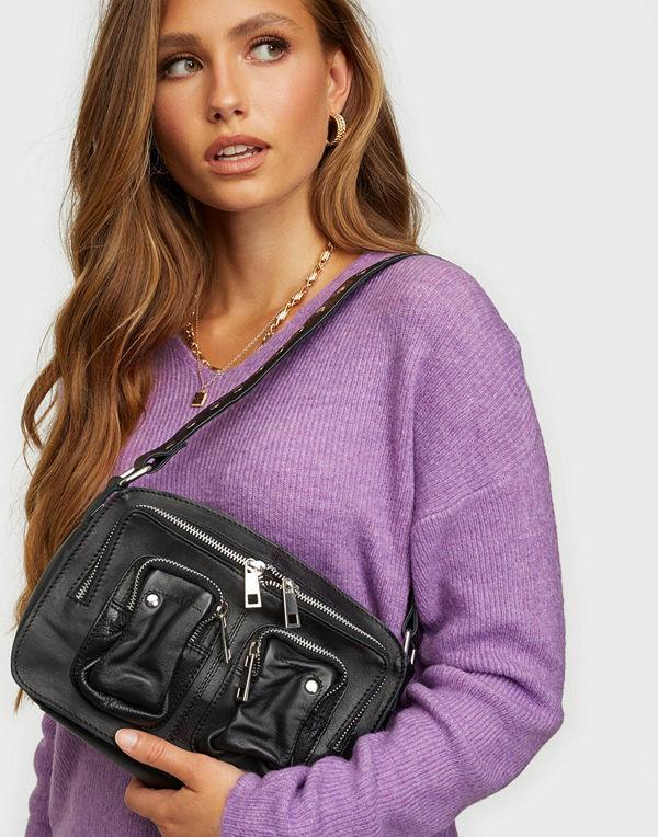 NuNoo svart väska Ellie silky