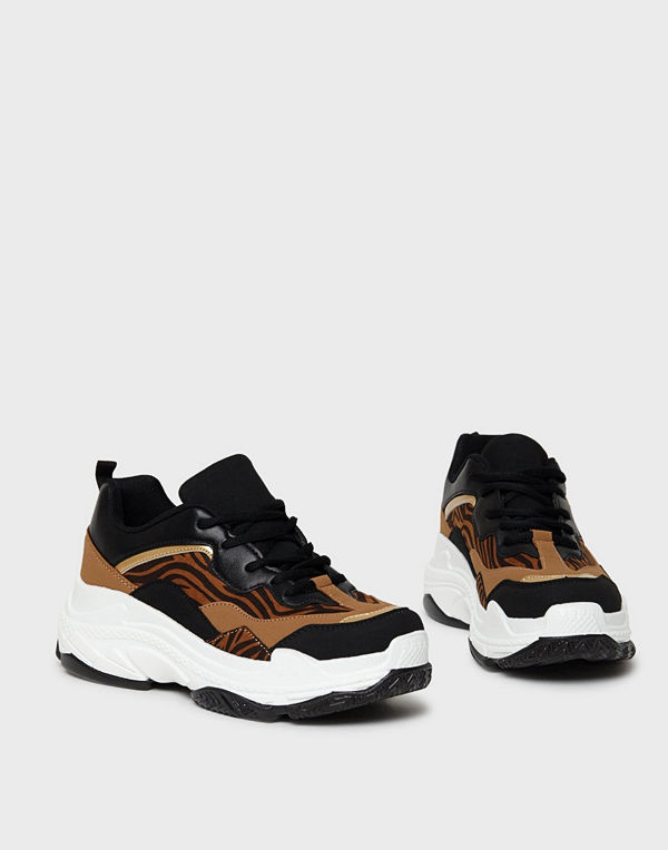 Duffy Tiger Chunky Sneakers