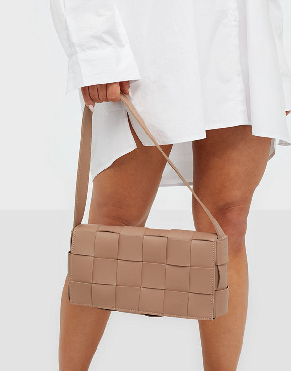 NLY Accessories beige axelväska Say No More Bag