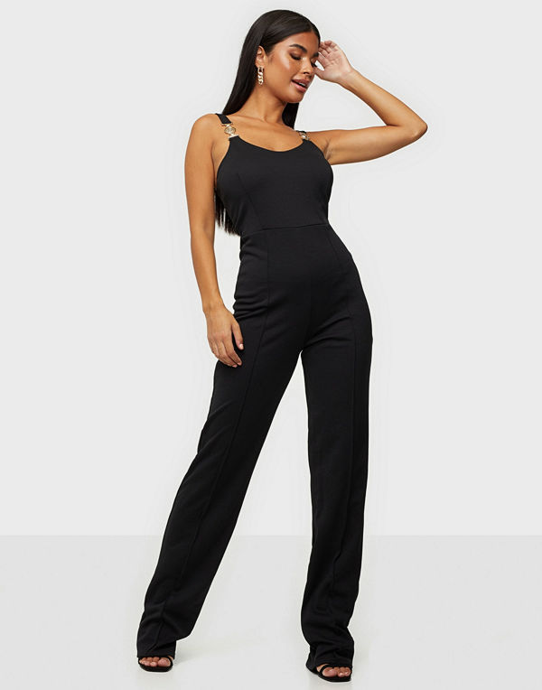 NLY One Gold Trim Jumpsuit