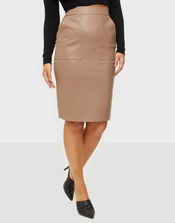 NLY Trend Pu Cargo Skirt