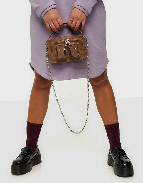 NuNoo brun väska Helena new suede