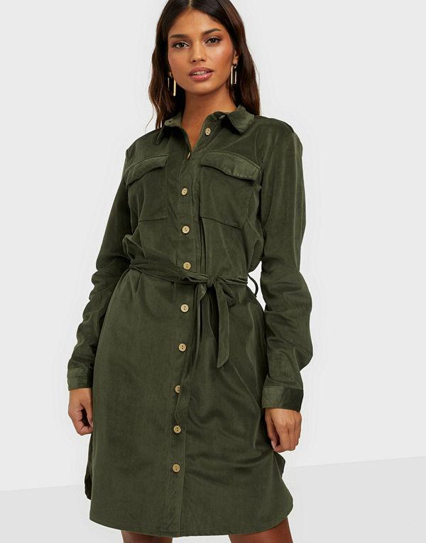 Jacqueline de Yong JDYSOFI L/S CORDUROY SHIRT DRESS JR