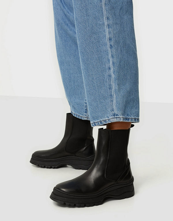 Pieces PSSELIONE LEATHER BOOT