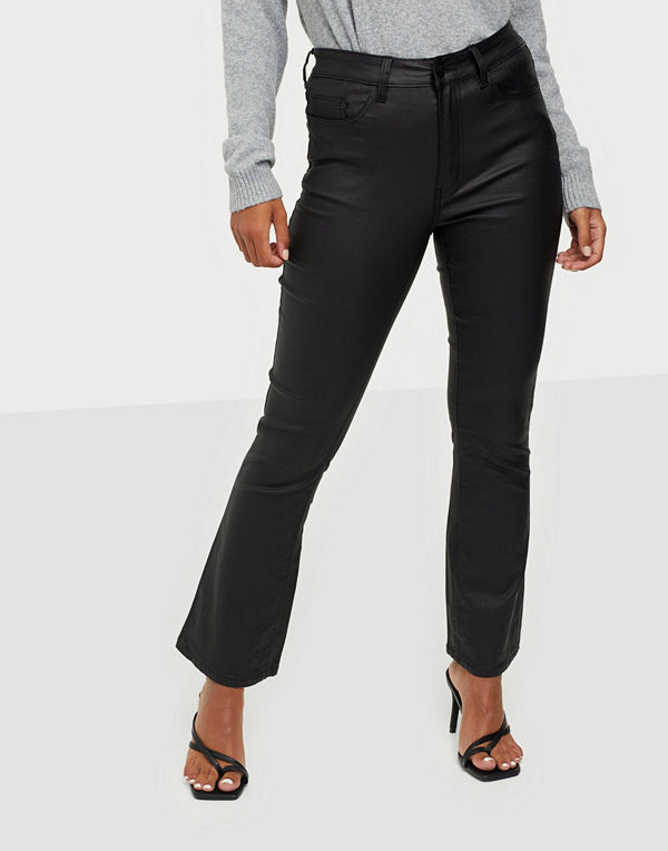 Object Collectors Item OBJBELLE COATED FLARED JEANS PB8