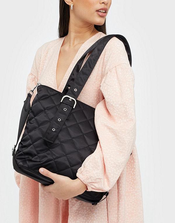 Unlimit svart väska Shopper Edel