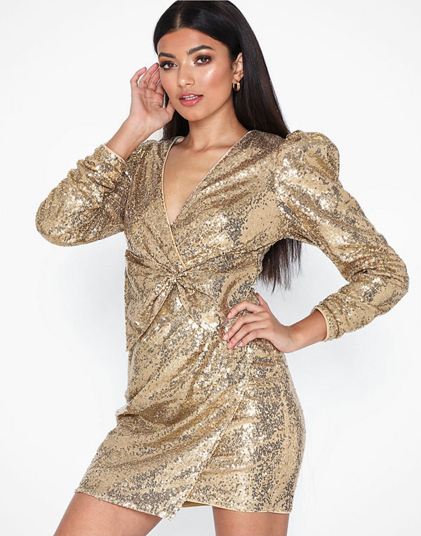 NLY Trend Puffy Power Sequin Dress