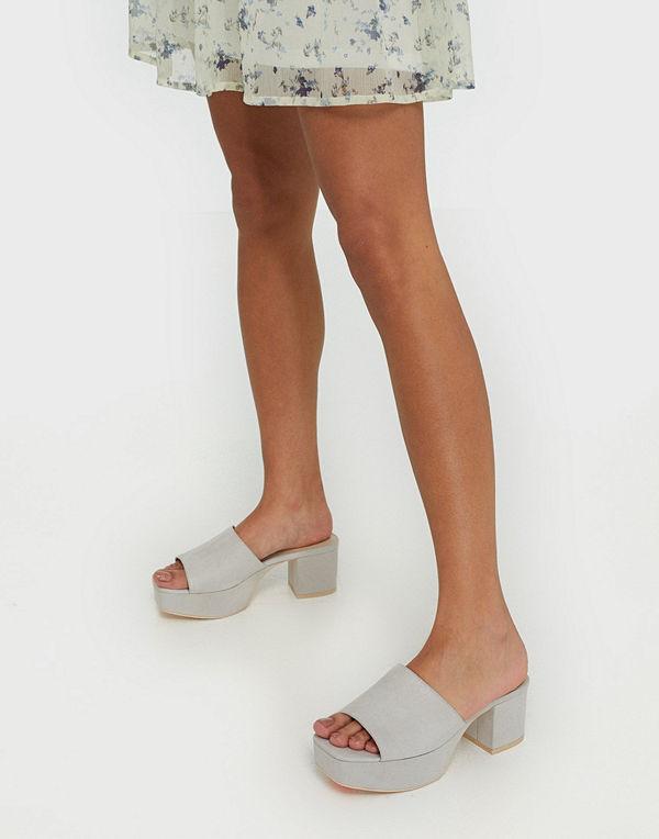 NLY Shoes Low Platform Mule