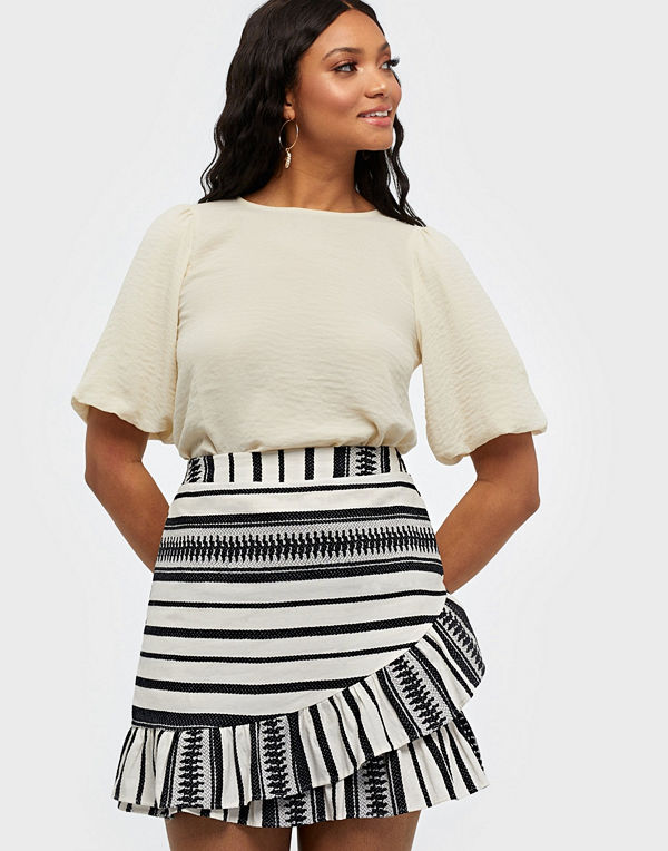 Only ONLSALLY ATHENA WRAP SKIRT WVN