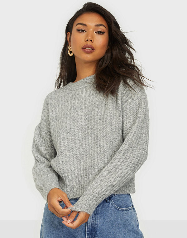 Only ONLNEW CHUNKY L/S PULLOVER KNT
