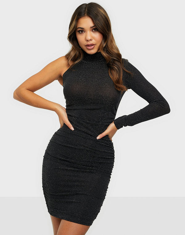 NLY One Asymmetric Lurex Dress