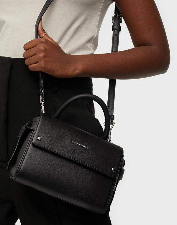 Karl Lagerfeld svart väska K/Ikon Mini Top Handle