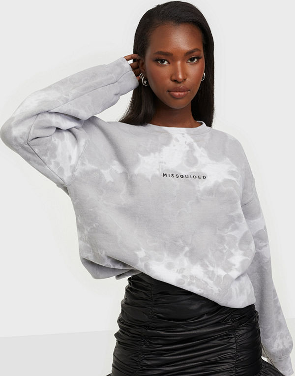 Missguided Tie Dye Washed Sweat