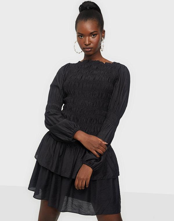 Neo Noir Briselle Smock Dress