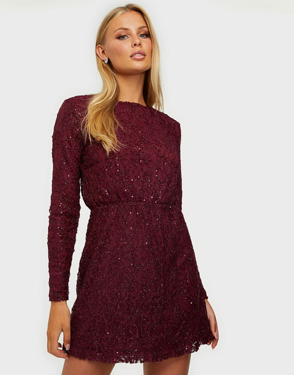 NLY Trend Sequin Lace Dress