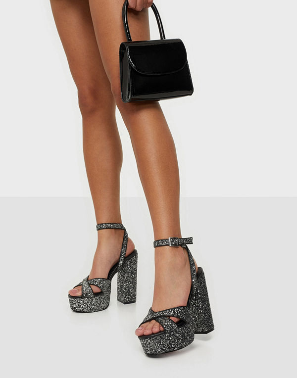 NLY Shoes Platform Glitz Heel