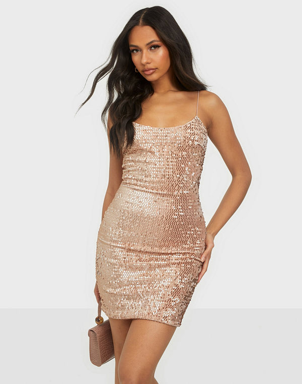 NLY One Velvet Sequin Mini Dress