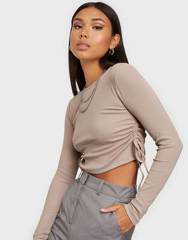 NLY Trend Side Drawstring Top