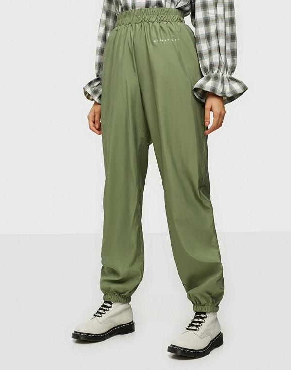 Missguided Rib T-shirt Wide Leg Set