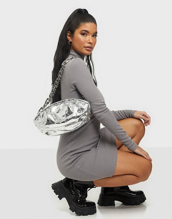 NuNoo grå väska Lin cool
