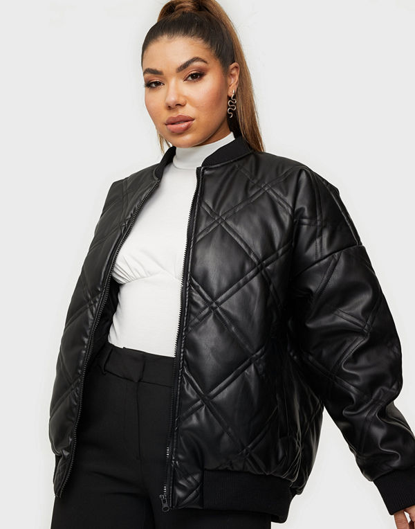 Noisy May NMBENNY L/S QUILTED BOMBER JACKET
