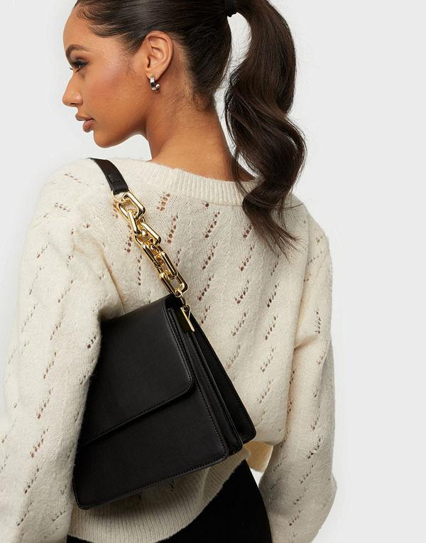 NLY Accessories svart väska Crossbody Chain Bag