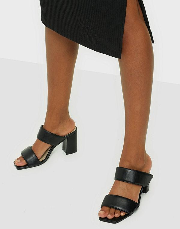 NLY Shoes Velcro Block Sandal