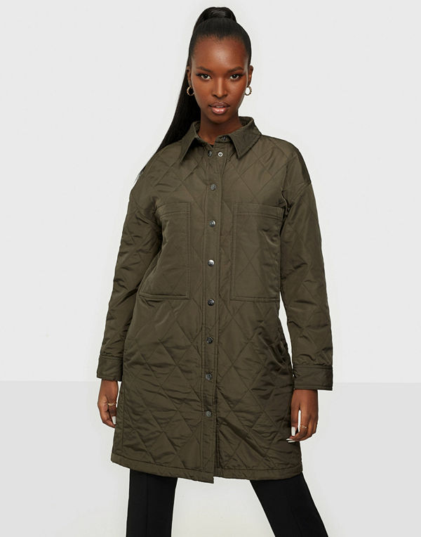 co'couture Kelly Quilt Shirt Jacket