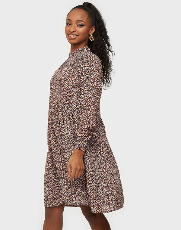 Jacqueline de Yong JDYNIKKY BASE L/S SMOCK DRESS WVN