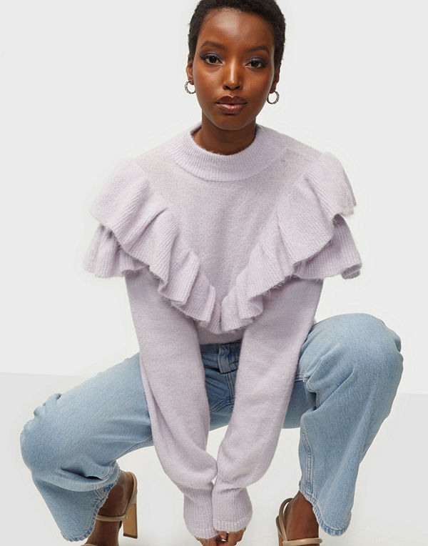 NLY Trend Frilled To See You Sweater