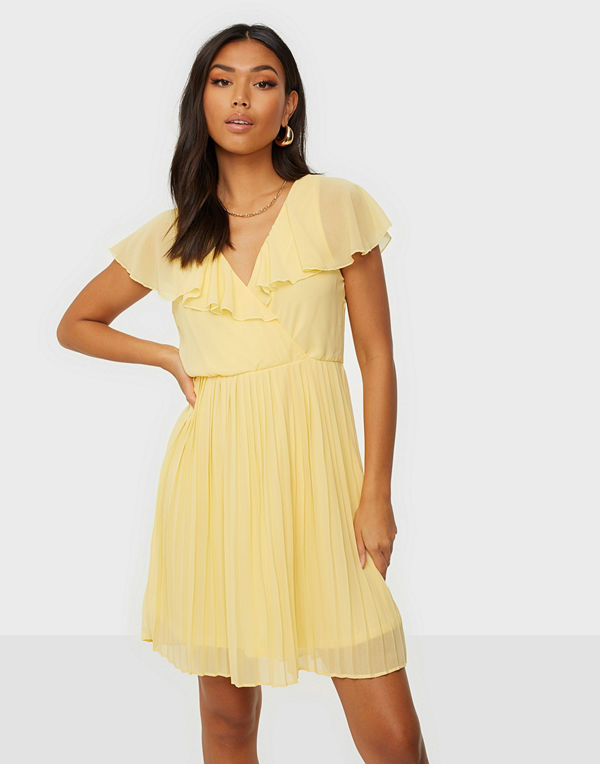 Vila VIKATELYN S/S PLEATED DRESS/DC/SU