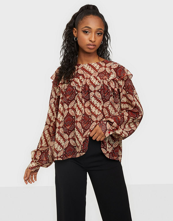Object Collectors Item OBJGRIVA L/S BLOUSE A OFW