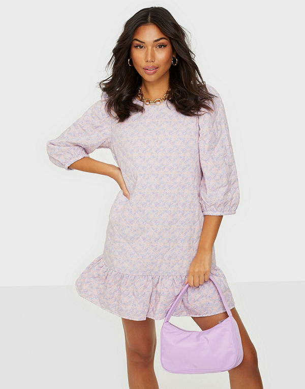 Jacqueline de Yong JDYSCARLET 3/4 SHORT QUILT DRESS WV