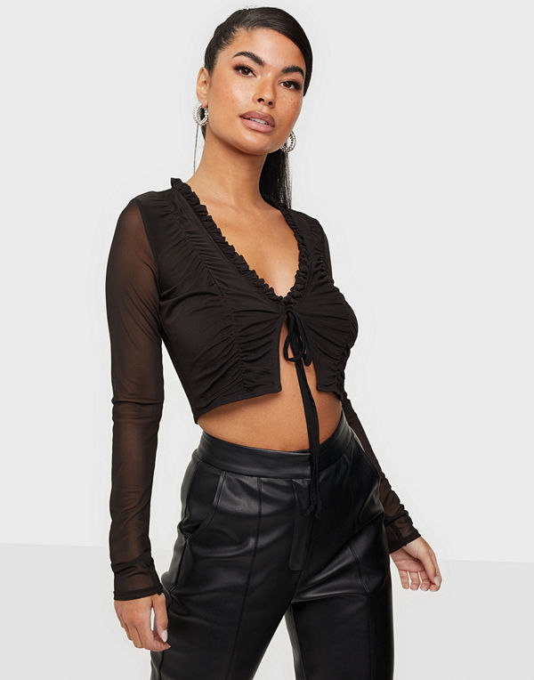 NLY One Mesh Tie Top