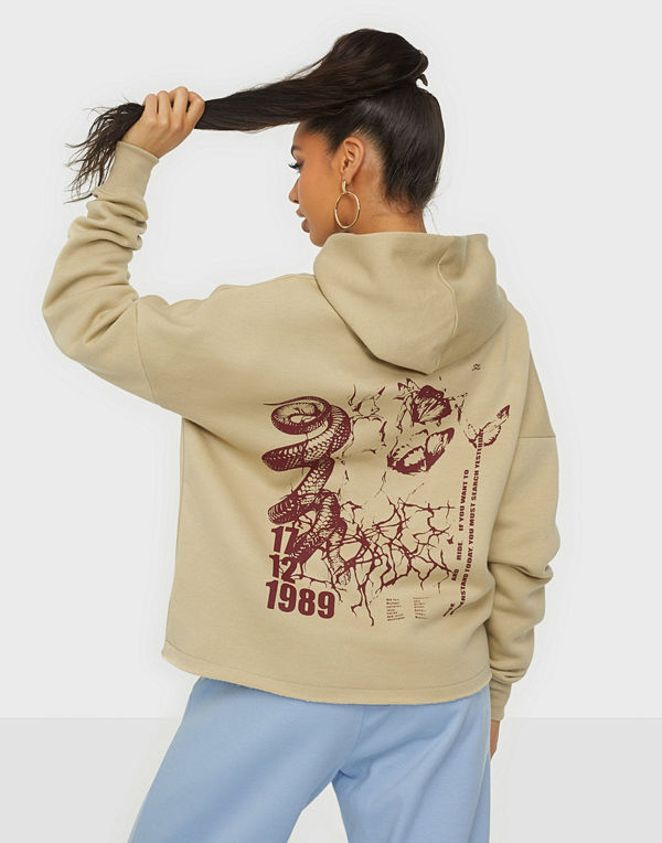 Missguided Graphic Hoodie