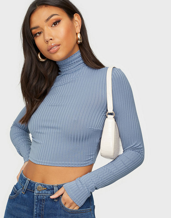 NLY One Rib Turtleneck Top
