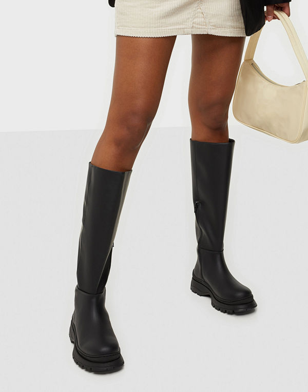 Selected Femme SLFLUCY LEATHER HIGH SHAFTED BOOT B