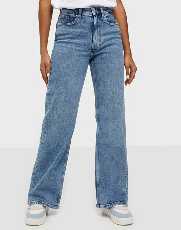 Only ONLJUICY LIFE HW MB WIDE LEG JEANS