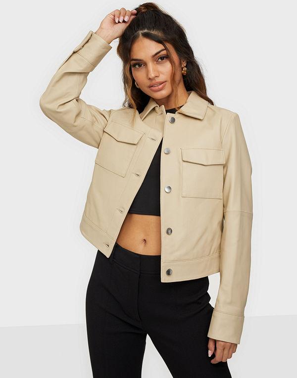 Jofama Lynn Pocket Leather Jacket