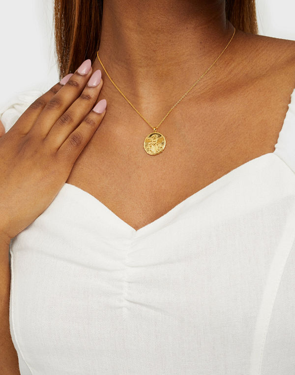 Syster P smycke Lucky Coin Strength Necklace