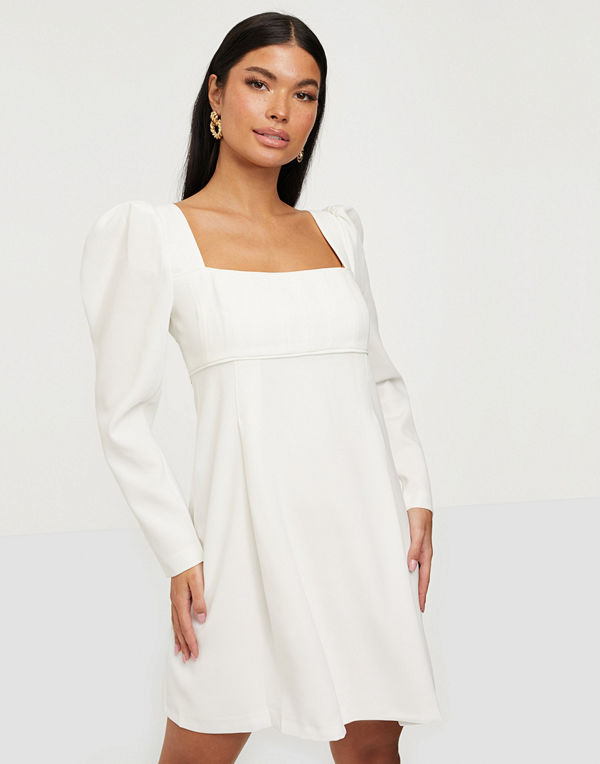 Forever New Puff Long Sleeve Dress
