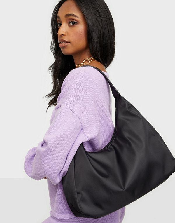 Glamorous väska Curved Nylon Shoulder Bag