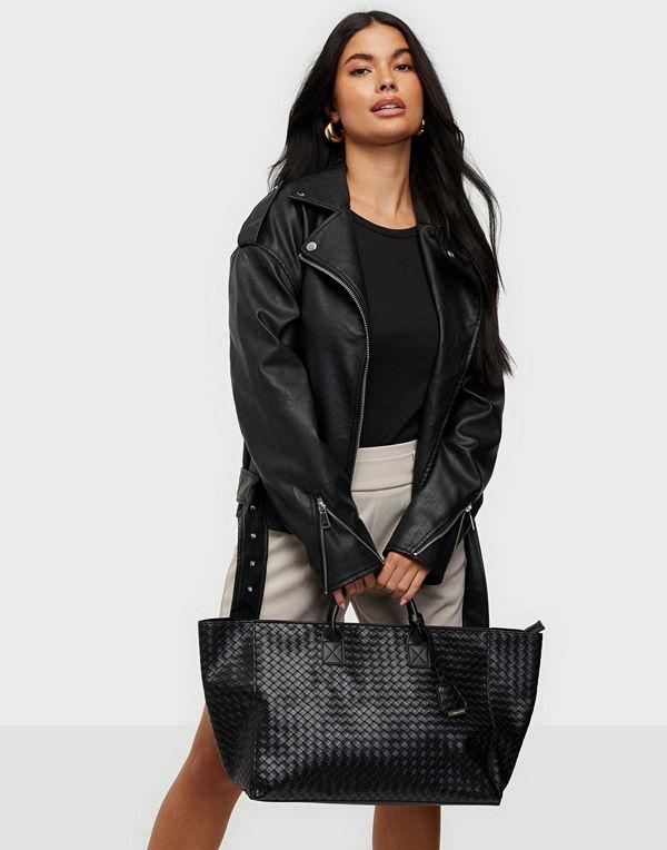 Glamorous väska Large Woven Tote Bag